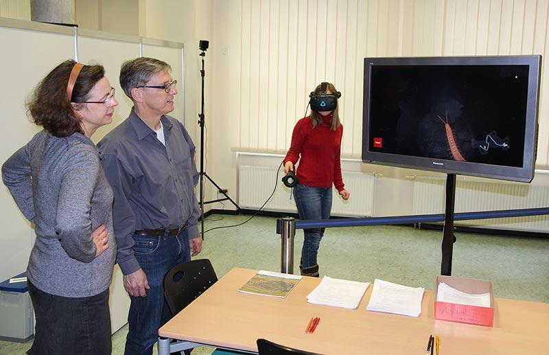 Das Leben unter unseren Füßen: Erste VR-Anwendung in der Testphase