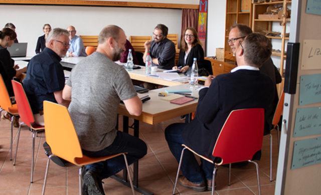 Arbeitsgruppe zum Thema Lizenzen auf einem unserer Verbundtreffen © SPK