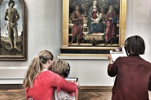 AR-Prototyp in der Gemäldegalerie