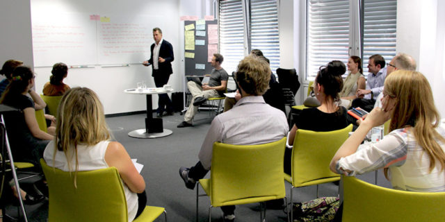 Gemeinsamer Workshop mehrerer museum4punkt0-Teilprojekte, Foto: Stiftung Preußischer Kulturbesitz, CC BY 4.0