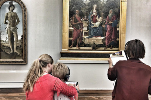 AR-Testing in der Gemäldegalerie