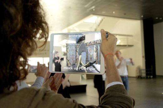 interaktiver Museumsguide mit AR-Technologie