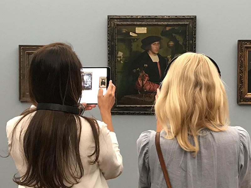 Teilprojekt: Visitor Journeys neu gedacht – digitale Erweiterung des Museumsbesuchs