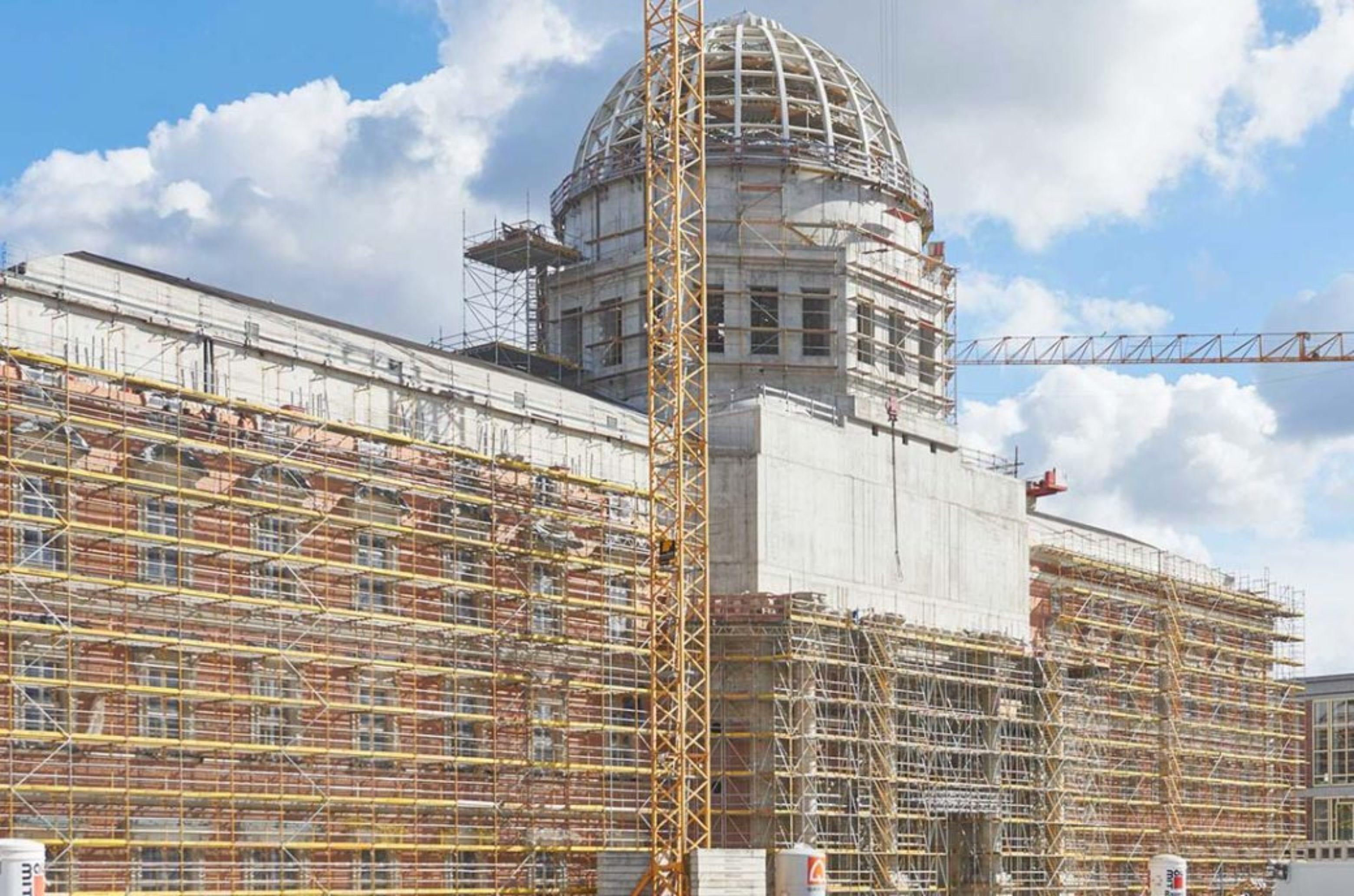 Humboldt Forum in construction