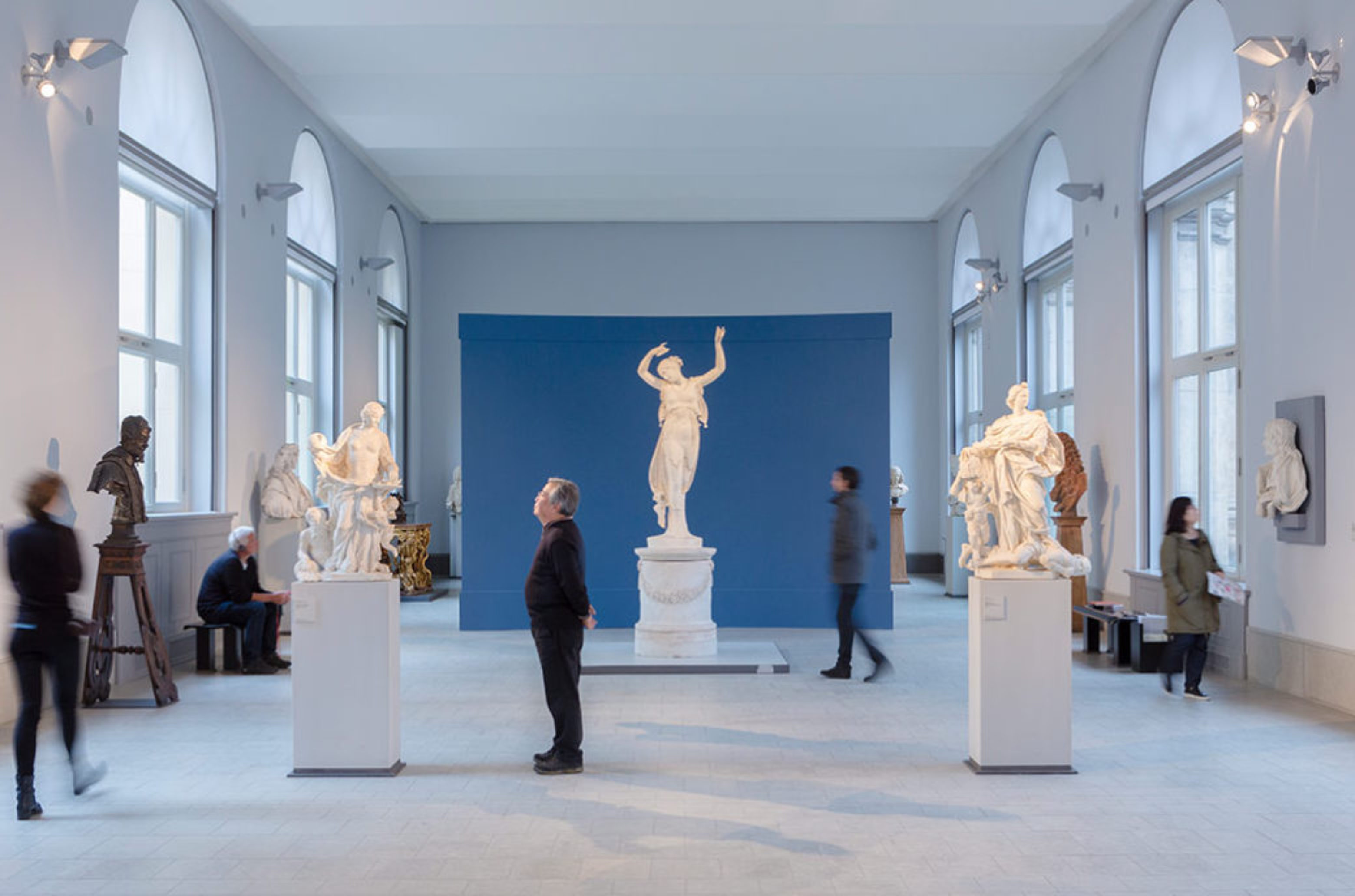 "View of the Exhibition ""Canova und der Tanz"" in Bode-Museum"