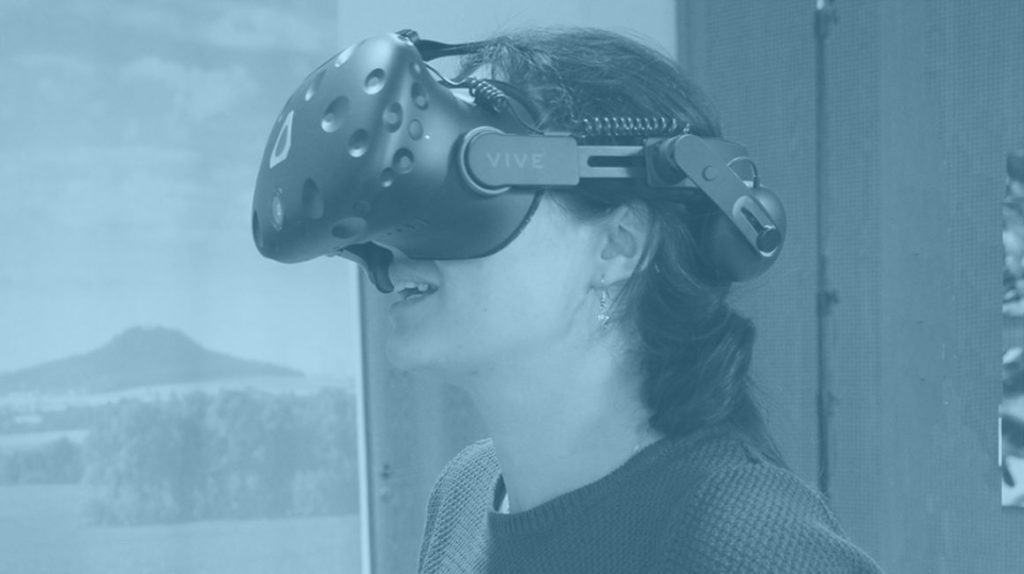 """Mitschnitt: """"Making of: Blick hinter die Kulissen der Entstehung von virtuellen Umgebungen und 3D-Modellen"""" (Görlitz, 18. Juni 2018) Foto: © Senckenberg Museum für Naturkunde Görlitz"""