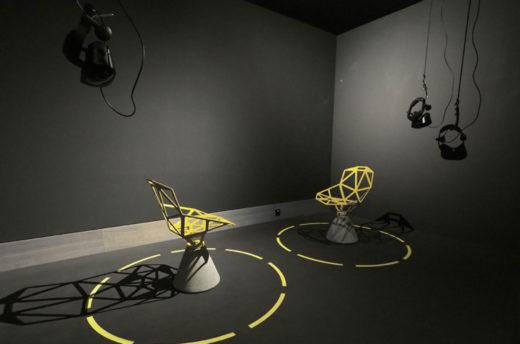 Ausstellungsexperiment mit digitalen und analogen Exponaten