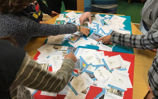 Workshop mit Kindern zwischen sechs und 12 Jahren. Foto: S. Krohn CC BY 4.0