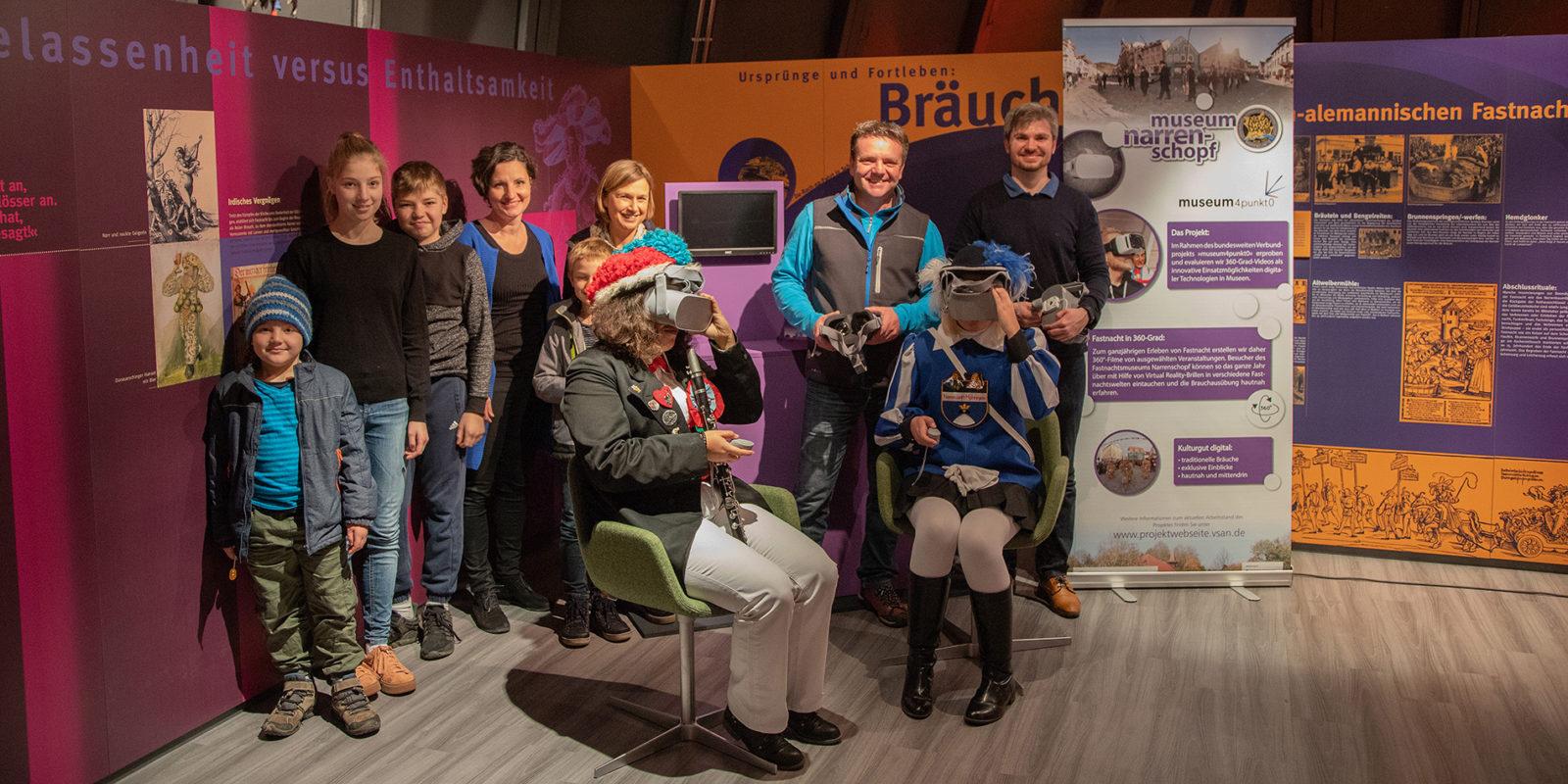 360-Grad-Filme der Fastnacht in VR im Museum Narrenschopf