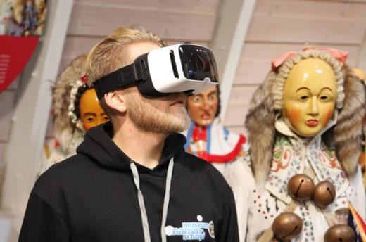 VR-Angebot im Museum Narrenschopf