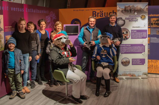 Virtual Reality Angebot im Museum Narrenschopf
