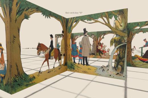 3D-Visualisierung Stadtpark