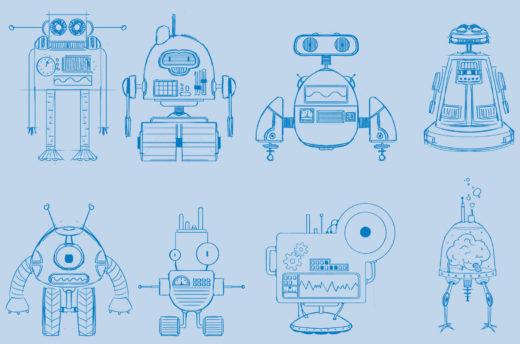 Design-Entwürfe für das Browsergame