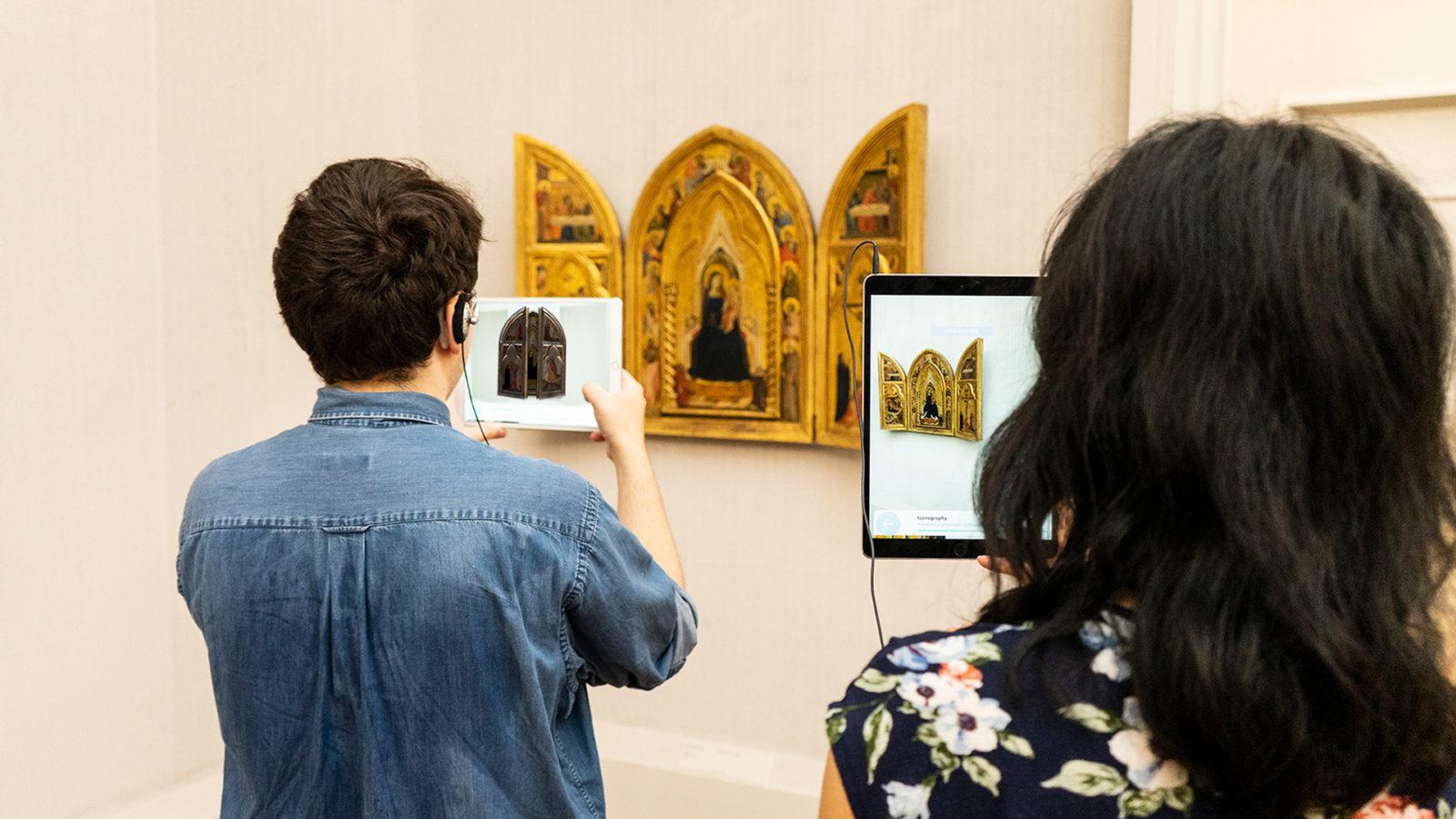 AR-Anwendung Gemäldegalerie