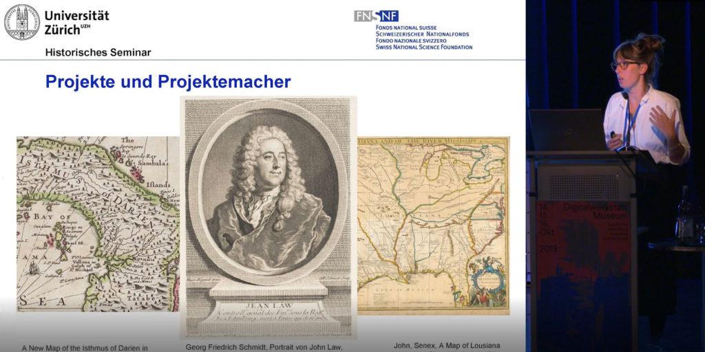 """Dr. Eva Brugger (Universität Zürich), """"War scheitern schon immer produktiv? Impulse aus der Geschichte der Projektemacherei"""", Video u. Foto: Stiftung Preußischer Kulturbesitz, CC BY 4.0"""