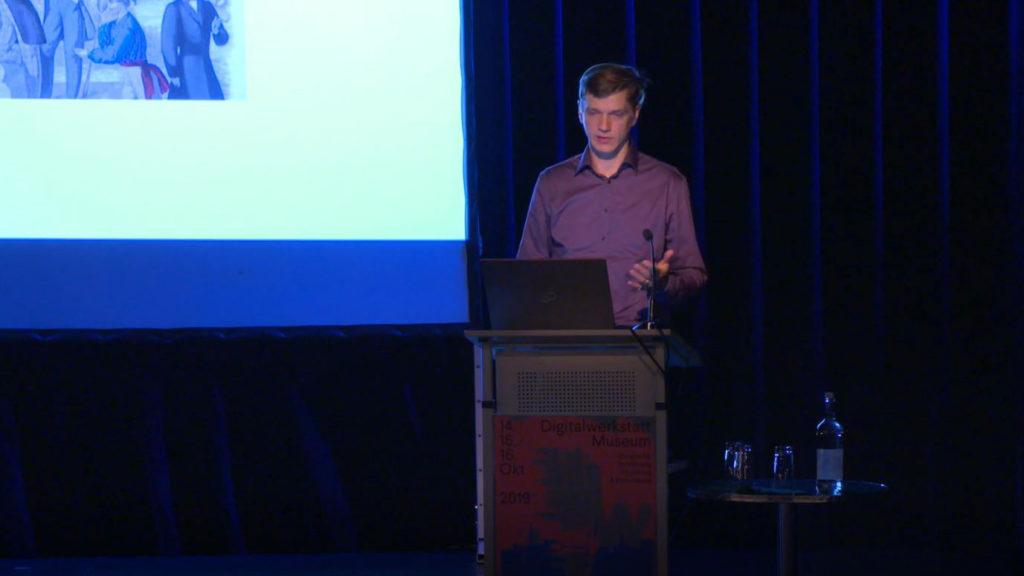 """Alexander Struck (Humboldt Universität), """"Aspekte nachhaltiger Softwareentwicklung"""", Video u. Foto: Stiftung Preußischer Kulturbesitz, CC BY 4.0"""
