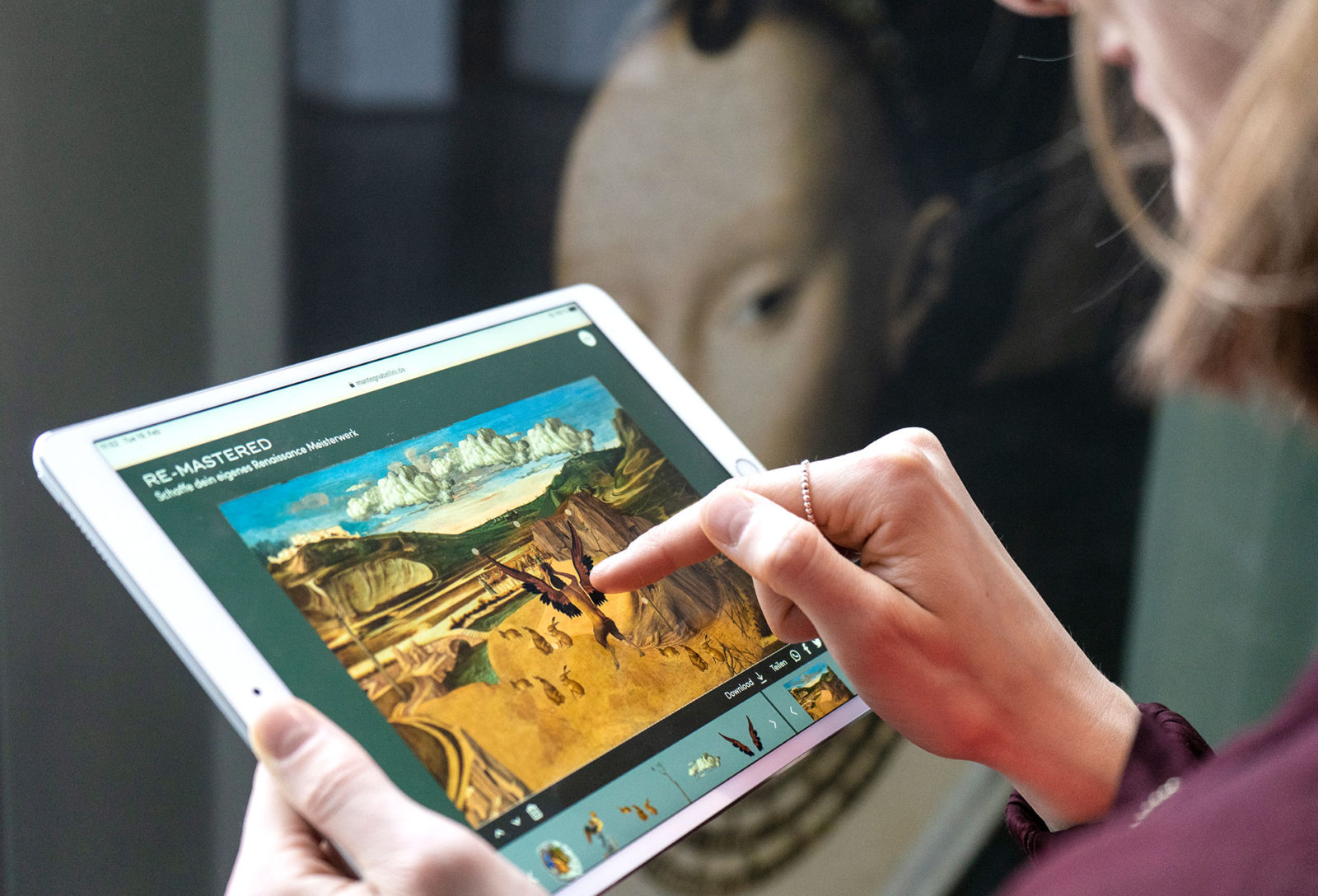 Digitalangebot zur Sonderausstellung Mantegna Bellini
