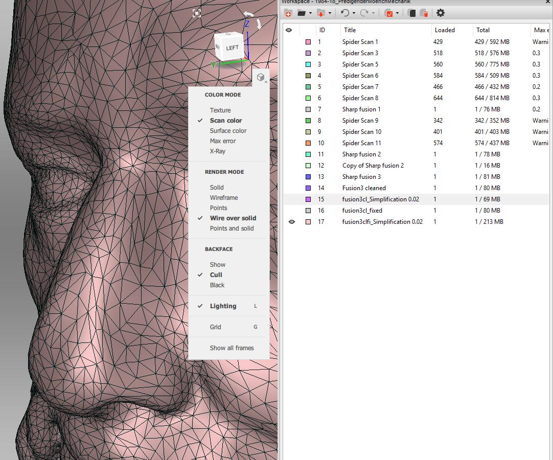 Oberflächliches – 3D-Scanner an physikalischen Grenzen