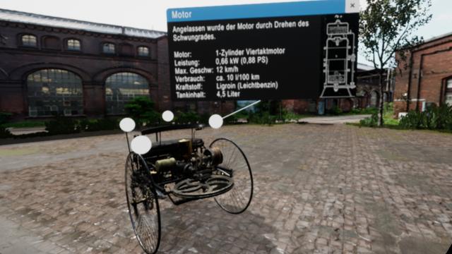 VR Lab Benzwagen
