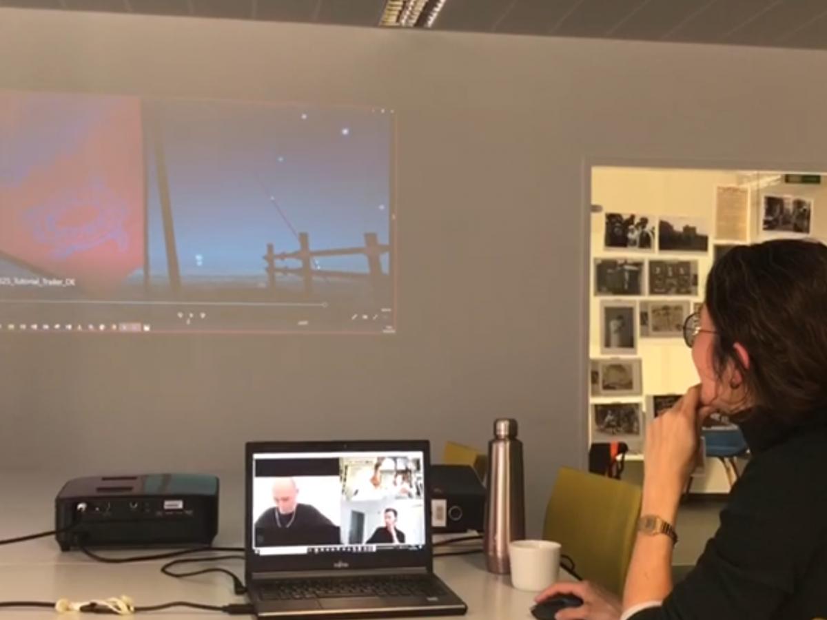 Ein VR-Spiel an sieben Orten gleichzeitig abnehmen? Das geht!