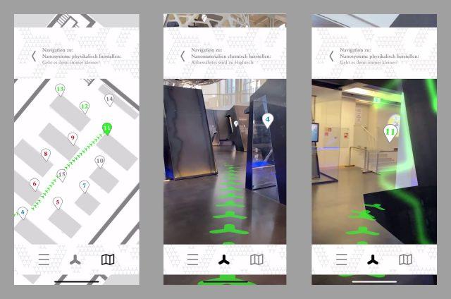 AR-Indoor-Navigation (Screenshots)