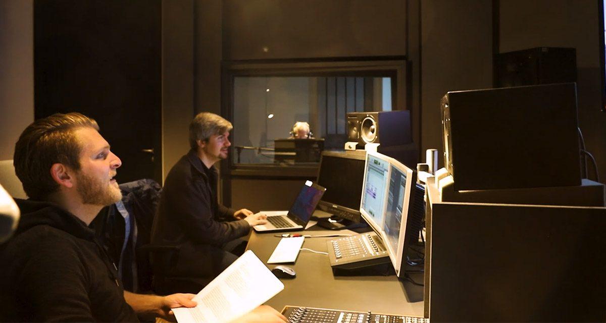 Ton zum 360-Grad-Film –  Prof. Dr. Dittler schaut im Studio vorbei