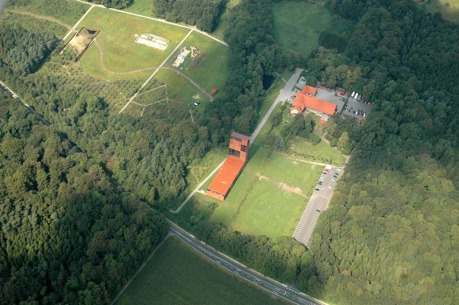 Archäologisches Forschungsfeld am Originalschauplatz der Varusschlacht