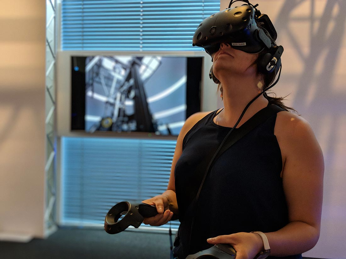 VRlab: Interaktion mit virtuellen Museumsobjekten