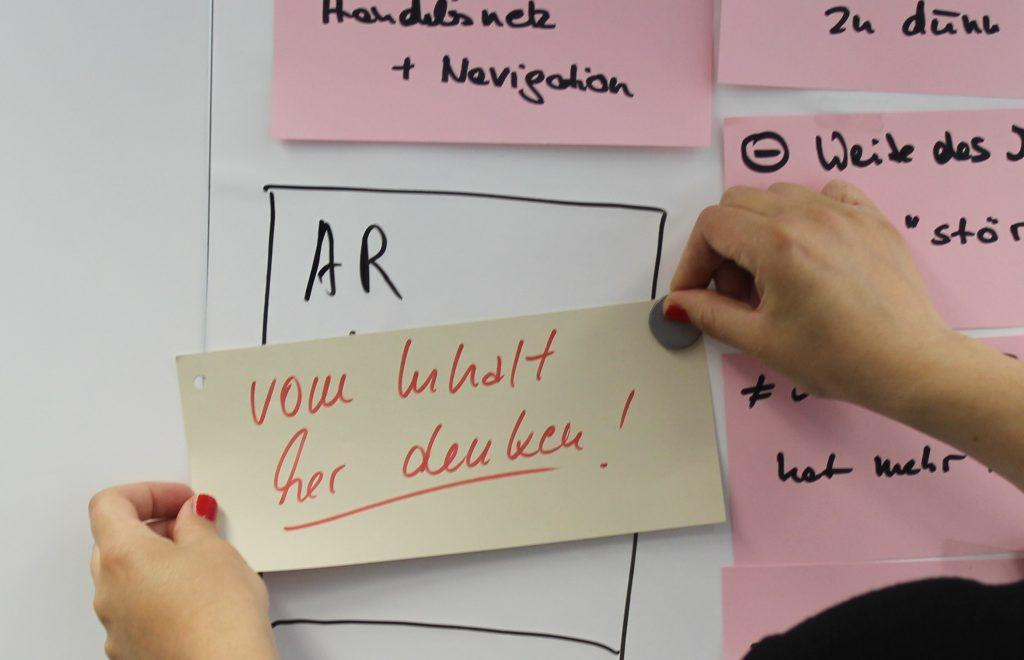 Brainstorming für die gemeinsame Sache