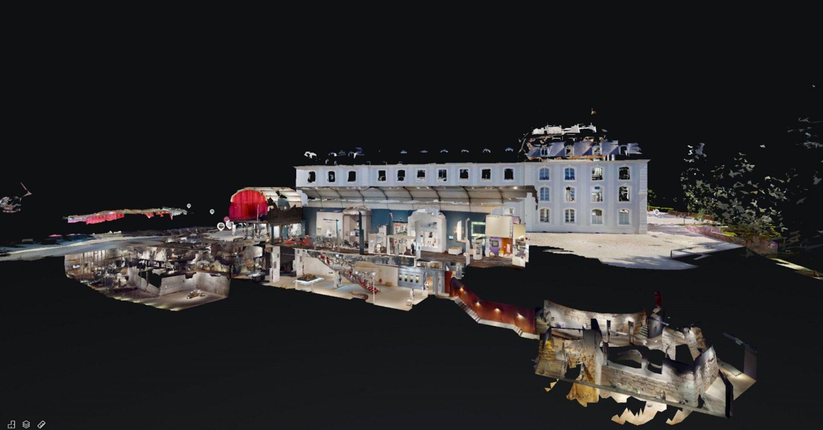 2.700 m² Ausstellungsfläche des Historischen Museums Saar