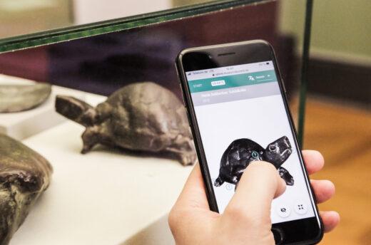 Exponate digital auf dem eigenen Gerät erkunden