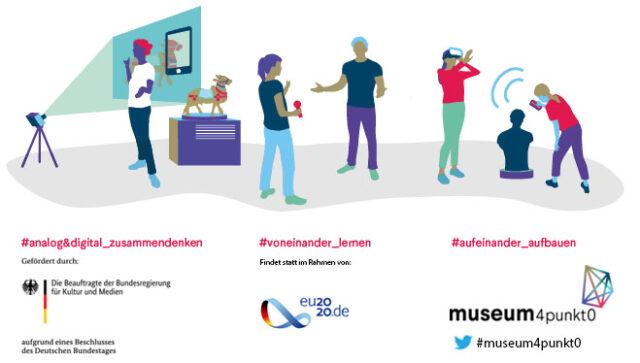 Digitale Konferenz museum4punkt0: Zukunft gemeinsam entwickeln