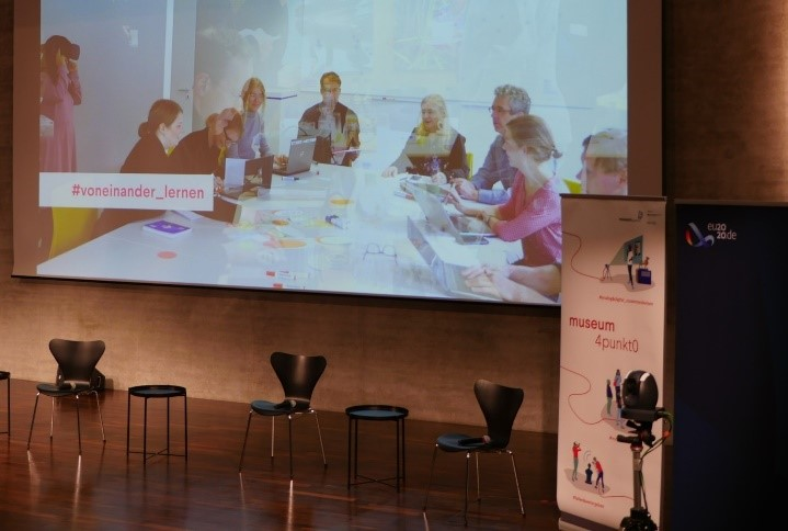 museum4punkt0 freut sich auf digitalen Austausch 2021