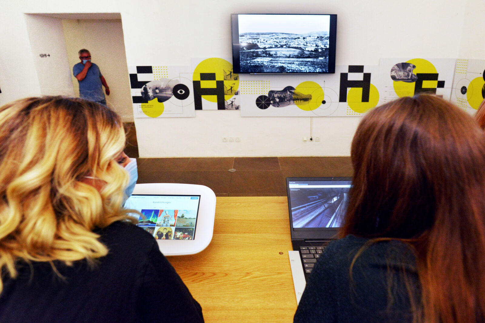 Virtuelle Museumserkundung