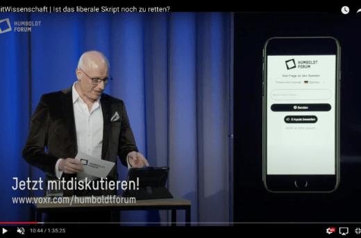 Volker Wieprecht erklärt das Partizipationstool VoxR