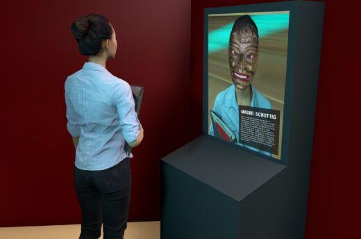KI-gesteuerte Gesichtserkennung